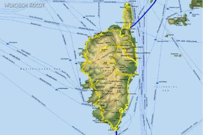 002 - Mapa Korsyki