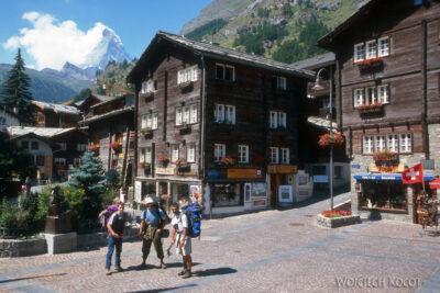 025 - Zermatt - gł ulica