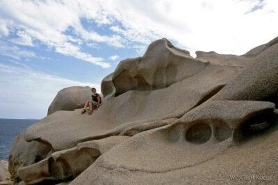 008 - Capo Testa - plener skalny