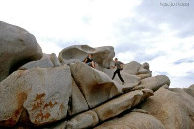 009 - Capo Testa - plener skalny