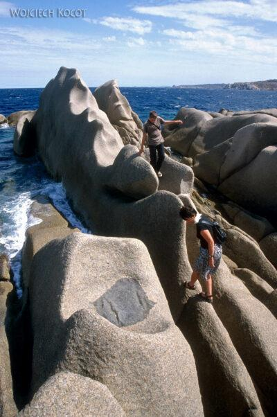 022 - Capo Testa - plener skalny