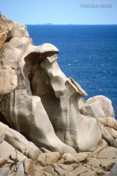 029 - Capo Testa - plener skalny