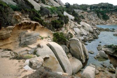 043 - Capo Testa - plener skalny
