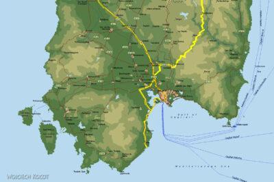 049 - Mapka - południowa cz wyspy