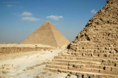 9128 - Giza - Piramida Chefrena iCheopsa