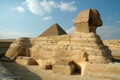 9153 - Giza - Sfinks natle Cheopsa