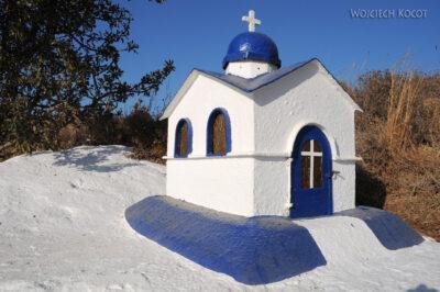 02074 - Kos - przydrożna kapliczka