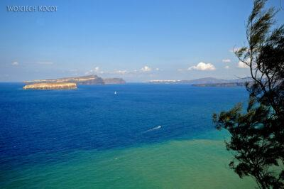Santorini - widok naThirasię iIa