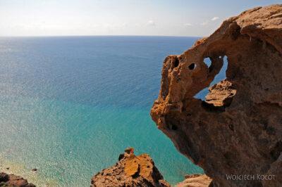 Santorini - widok napołudnie