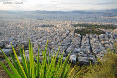 15110 - Ath - widoki zgóry Lykavittos