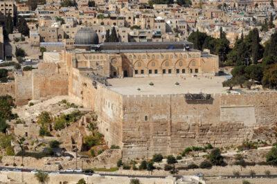 006 - Widok naMeczet El - Aqsa