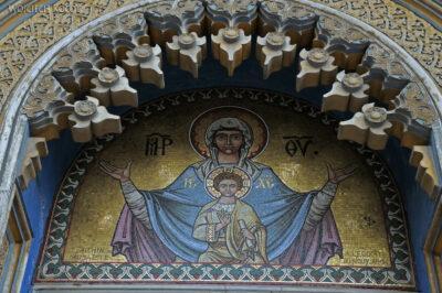 F185 - Curtea de Arges - Manastire - kręcony