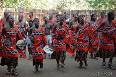 SA06119-Wioska Swazi-taniec iportrety