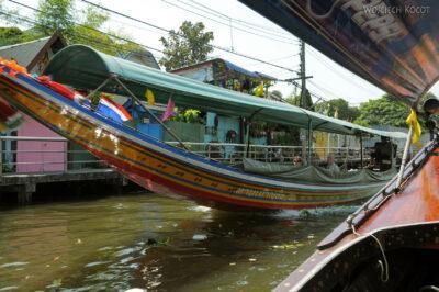 Rejs poChao Phraya ikanałach