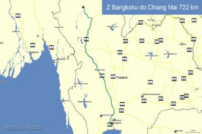 Przejazd doChiang Mai