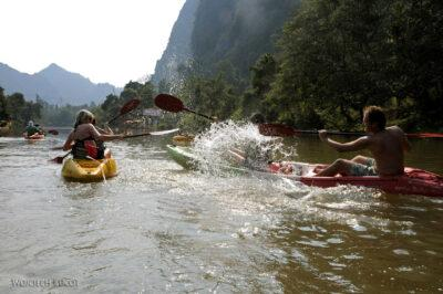2L3143-Spływ kajakowy rzeką Nam Po