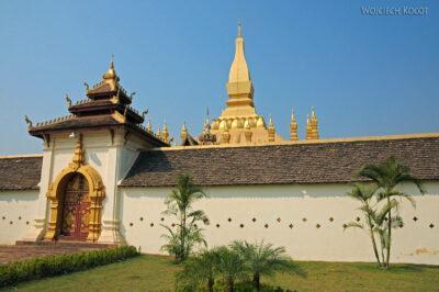 2L4014-Wielka Stupa-Phra That Luang