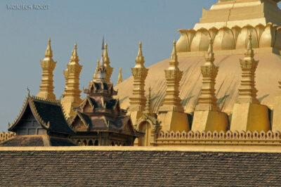 2L4016-Wielka Stupa-Phra That Luang