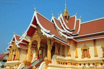 2L4027-Świątynia obok Phra That Luang
