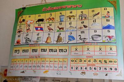 2L4043-Alfabet Laotański