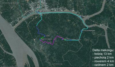 3W8005-Przez Deltę Mekongu