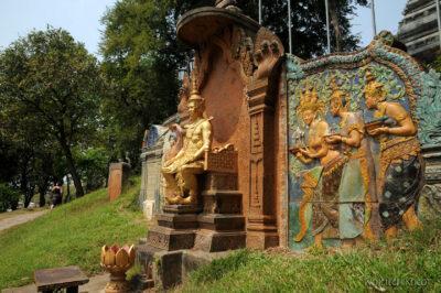 4K1101-Otoczenie Świątyni Wat Nom