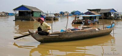 4K4133-Wioska nawodzie Boeng Tonle Sab