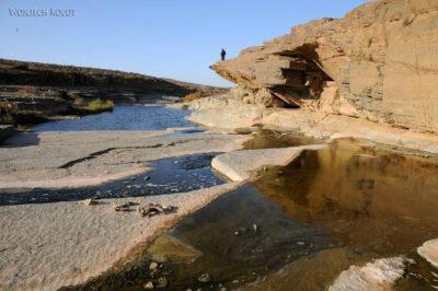 Rzeka wporze suchej