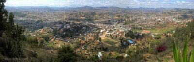 Ma20055-Fianarantsoa centrum - widok odzachodu