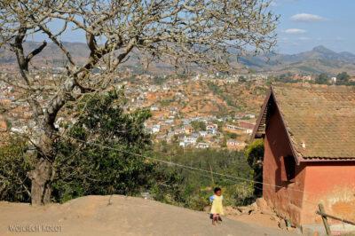 Ma20123-Fianarantsoa - część południowa - Widok odzachodu