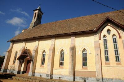 Ma20130-Starówka Fianarantsoa - kościół