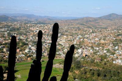 Ma20134-Fianarantsoa - część południowa - Widok odzachodu