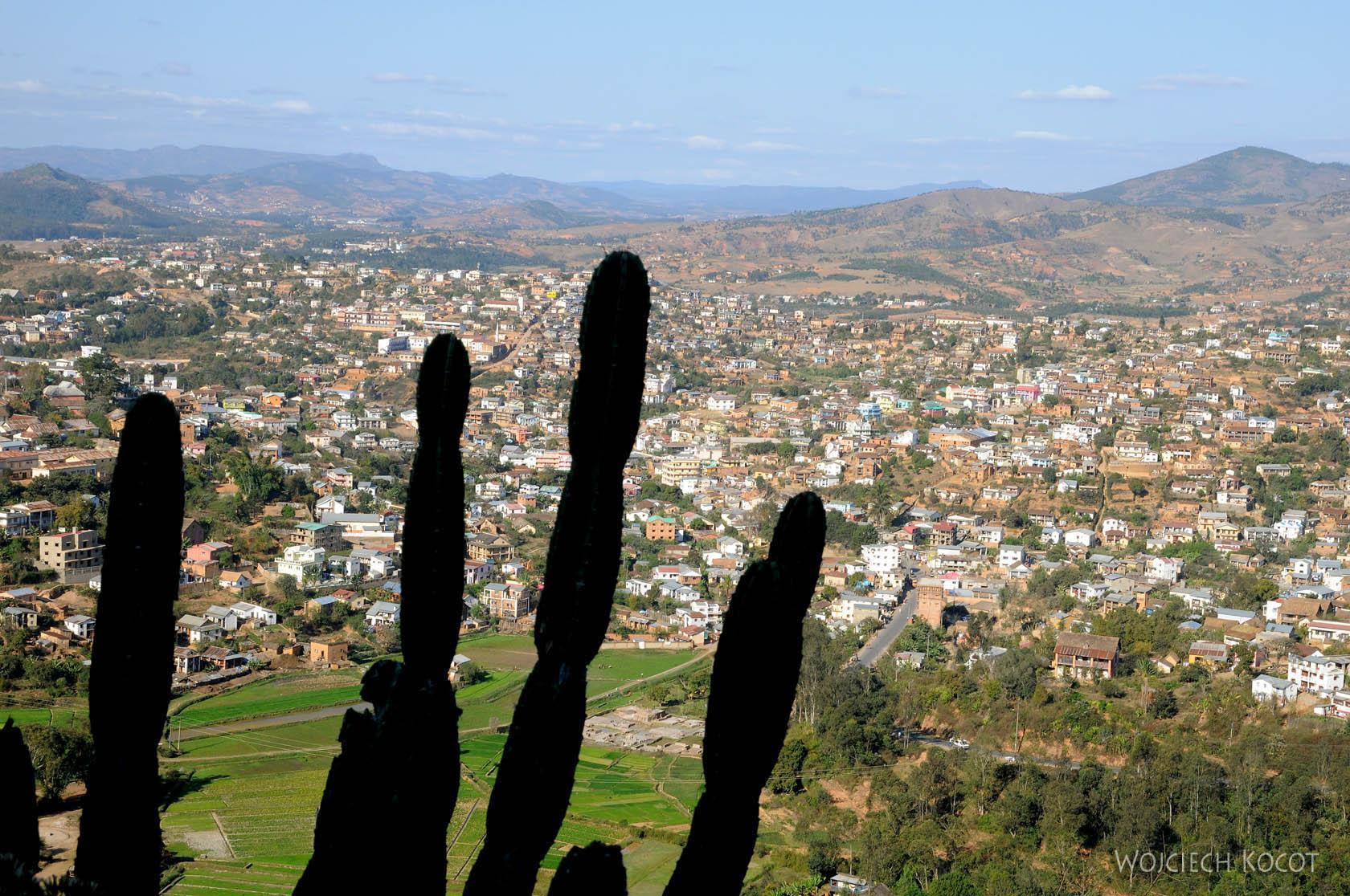 Ma20134-Fianarantsoa - część południowa - Widok od zachodu