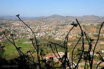 Ma20135-Fianarantsoa - część południowa - Widok odzachodu