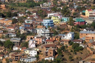 Ma20136-Fianarantsoa - część południowa - Widok odzachodu
