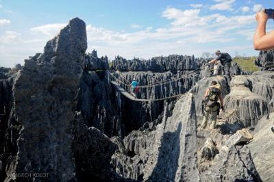Ma17121-Tsingy - most wiszący