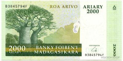 Ma18040-2000 Ariary - Baobab