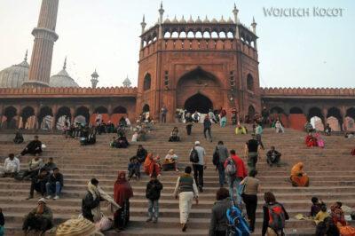 IN02173-Delhi-Meczet Jami Masjid