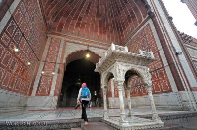 IN02186-Delhi-Meczet Jami Masjid