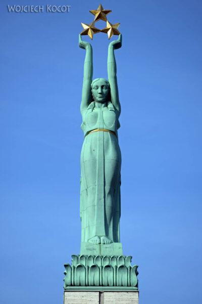 BałtF076-Ryga-Statua Wolności