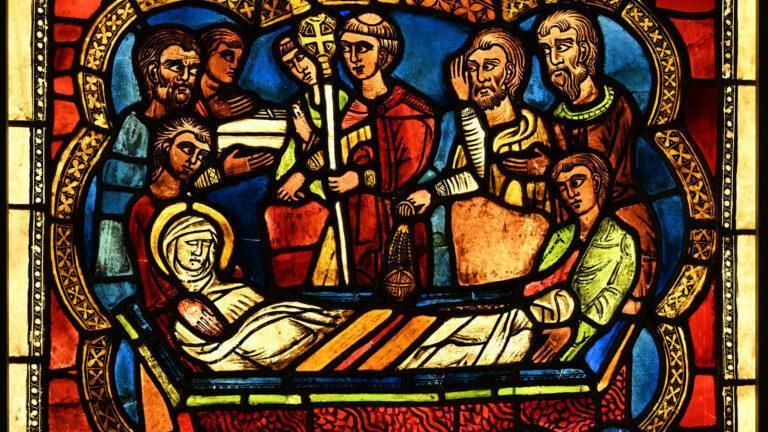 45-1200-Pogrzeb Św.Szczepana-kosc. w Helmstedt
