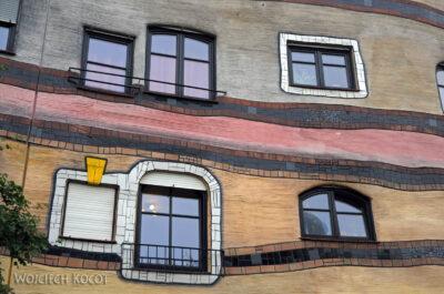 Por25025-Hundertwasser - WaldSpirale - Darmstadt, Friedberger Strasse