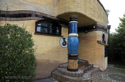 Por25027-Hundertwasser - WaldSpirale - Darmstadt, Friedberger Strasse