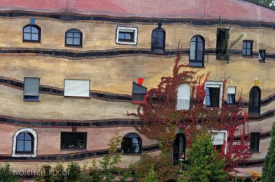 Por25034-Hundertwasser - WaldSpirale - Darmstadt, Friedberger Strasse