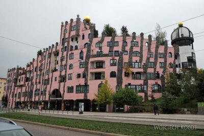 Por25055-Hundertwasser - Mieszk - Magdeburg, Breiter Weg