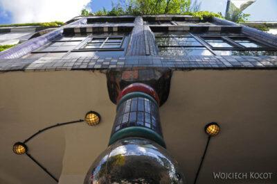 Por26034-Hundertwasser- Wien, Untere Weissgerberstrasse