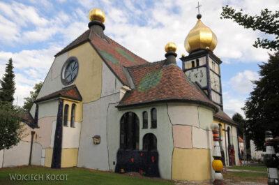 Por26088-Hundertwasser- Kościółek wBärnbach