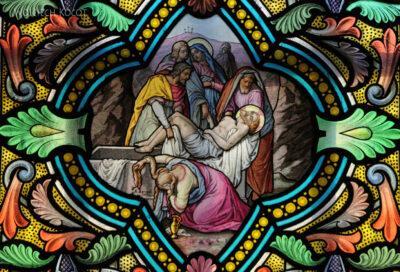 Por03139-Sanktuarium wLa Salette-witraż