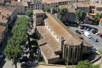Por04044-Carcassone-kościół nadole