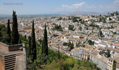Por10102-Alhambra-widok zAlcazaba